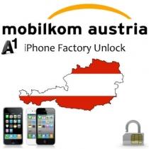 iPhone 4 4S 5 A1 MOBILKOM AUSTRIA (blokuotas ir neblokuotas IMEI, senesnis nei 24 mėnesiai) oficialus gamyklinis atrišimas per 1-7 d.d.