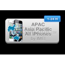 Visų iPhone, pririštų prie kitos šalies poliso ID: APAC (neblokuotas IMEI) oficialus gamyklinis atrišimas per 1-7 d.d.