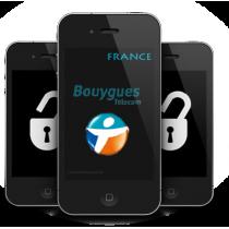 iPhone 4 4S 5 5C 5S 6 6+ BOUYGUES FRANCE (blokuotas ir neblokuotas IMEI) oficialus gamyklinis atrišimas iš karto