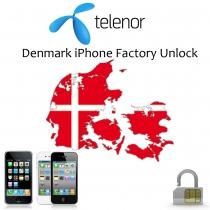 iPhone 4 4S 5 5C 5S 6 6+ TELENOR DENMARK (blokuotas ir neblokuotas IMEI) oficialus gamyklinis atrišimas per 1-12 h