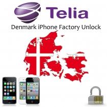 iPhone 4 4S 5 5C 5S 6 6+ TELIA DENMARK (blokuotas ir neblokuotas IMEI) oficialus gamyklinis atrišimas per 1-7 d.d.