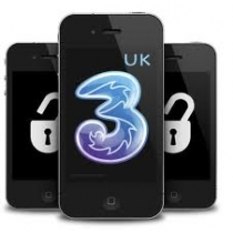 iPhone 4 4S 5 5C 5S 6 6+ 6S 6S+ THREE  3 HUTCHISON UK FLEX POLICY (neblokuotas IMEI) oficialus gamyklinis atrišimas per 2-15 d.d.