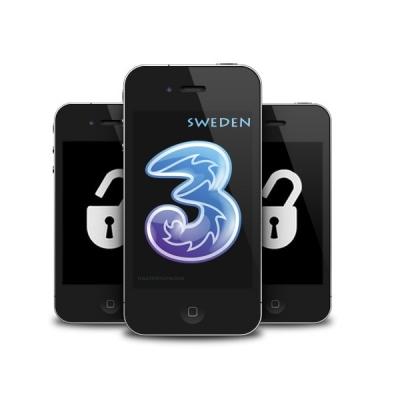 iPhone 4 4S 5 5C 5S 6 6+ 6S 6S+ 3 HUTCHISON SWEDEN (blokuotas ir neblokuotas IMEI) oficialus gamyklinis atrišimas per 1-3 d.d.