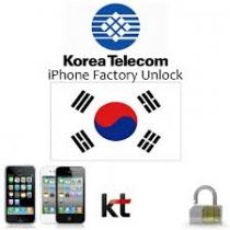 iPhone 3 3GS 4 4S 5 5C 5S KT FREETEL SK KOREA (neblokuotas IMEI) oficialus gamyklinis atrišimas per 1-4 d.d.