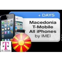 iPhone 4 4S 5 T-MOBILE MACEDONIA (neblokuotas IMEI, senesnis nei dveji metai) oficialus gamyklinis atrišimas per 1-4 d.d.