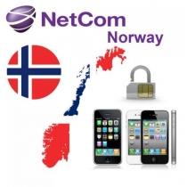 iPhone 3 3GS 4 4S 5 NETCOM NORWAY (neblokuotas IMEI) oficialus gamyklinis atrišimas per 1-3 d.d.