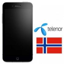 iPhone 3 3GS 4 4S 5 TELENOR NORWAY (neblokuotas IMEI) oficialus gamyklinis atrišimas per 24 h