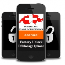 iPhone 3 3GS 4 4S 5 ORANGE SWITZERLAND (blokuotas IMEI) oficialus gamyklinis atrišimas per 1-2 d.d.