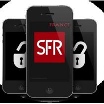 iPhone 4 4S 5 5C 5S 6 6+ SFR RANCE (blokuotas ir neblokuotas IMEI) oficialus gamyklinis atrišimas iš karto
