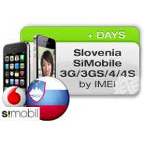 iPhone 4 4S 5 5C 5S 6 6+ SIMOBILE SLOVENIA (blokuotas ir neblokuotas IMEI) oficialus gamyklinis atrišimas per 1-2 d.d.