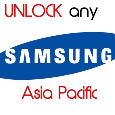 Visų SAMSUNG telefonų modelių (blokuotas ir neblokuotas IMEI) AZIJOS TINKLŲ oficialus gamyklinis atrišimas pagal IMEI per 24-48 h